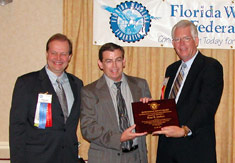 Granted a very special award from the Florida Wildlife Federation.